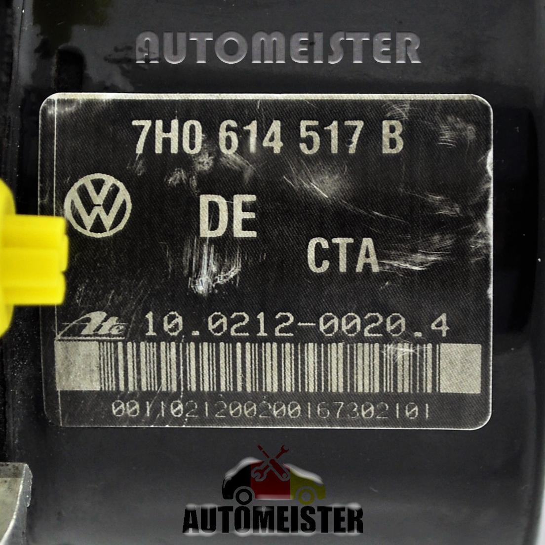 24Monate Garantie* ABS 7H0907379R 10092603123 7H0614517B 10021200204 VW